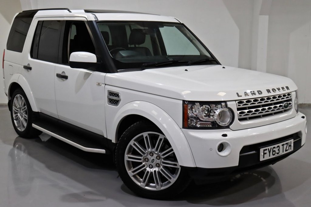USED 2013 63 LAND ROVER DISCOVERY 4 DISCOVERY HSE SDV6 AUTO