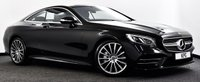 USED 2018 68 MERCEDES-BENZ S-CLASS 4.0 S560 V8 BiTurbo AMG Line (Premium) G-Tronic (s/s) 2dr Pan Roof, Air Scarf, Massage +