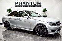 USED 2013 63 MERCEDES-BENZ C-CLASS 2.1 C250 CDI BLUEEFFICIENCY AMG SPORT PLUS 4d 202 BHP