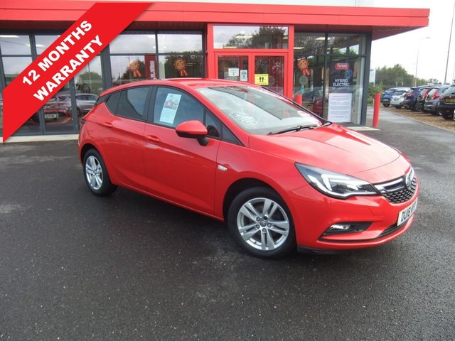 USED 2018 18 VAUXHALL ASTRA 1.4 TECH LINE NAV 5d 123 BHP *****12 Months Warranty*****