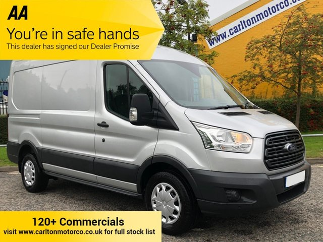 2017 17 FORD TRANSIT 350 TDCi 170ps L2 H2 TREND [ AIR CON ] PANEL VAN