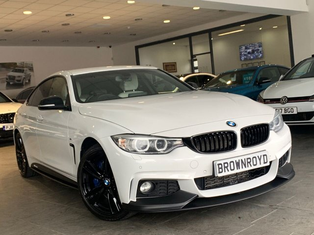 USED 2016 16 BMW 4 SERIES GRAN COUPE 3.0 430D XDRIVE M SPORT GRAN COUPE 4d 255 BHP BM PERFORMANCE STYLING+6.9 APR