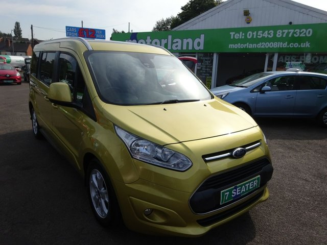 USED 2016 16 FORD GRAND TOURNEO CONNECT 1.5 TITANIUM TDCI 5d 118 BHP **JUST ARRIVED ...DIESEL..7 SEATER....01543 877320**