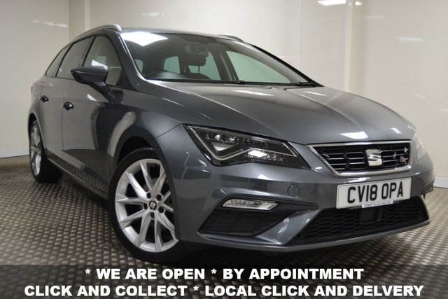USED 2018 18 SEAT LEON 2.0 TDI FR TECHNOLOGY 5d 150 BHP *JANUARY SALE NOW ON*