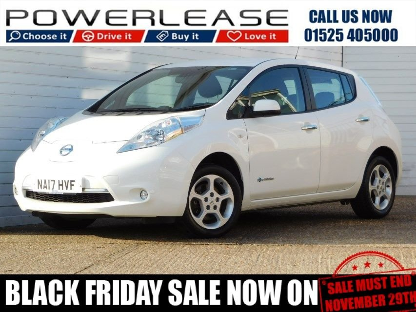 USED 2017 17 NISSAN LEAF 0.0 ACENTA 5d 24kWh 109 BHP CHOICE OF 7 AVAILABLE IN STOCK