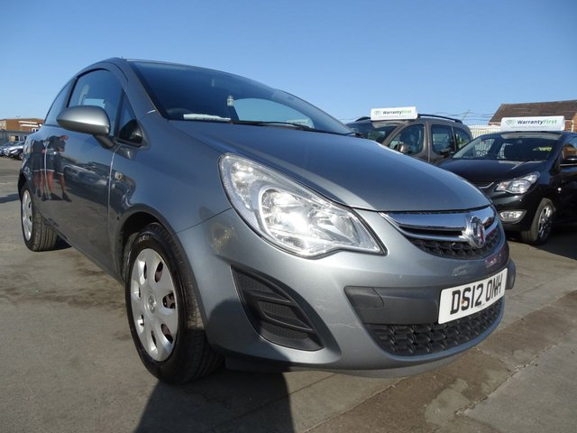 USED 2012 12 VAUXHALL CORSA 1.2 EXCLUSIV AC 3d 83 BHP CHEAP INSURANCE