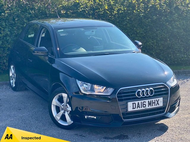 USED 2016 16 AUDI A1 1.6 SPORTBACK TDI SPORT 5d * 1 OWNER * 12 MONTHS FREE AA MEMBERSHIP * 128 POINT AA INSPECTED *