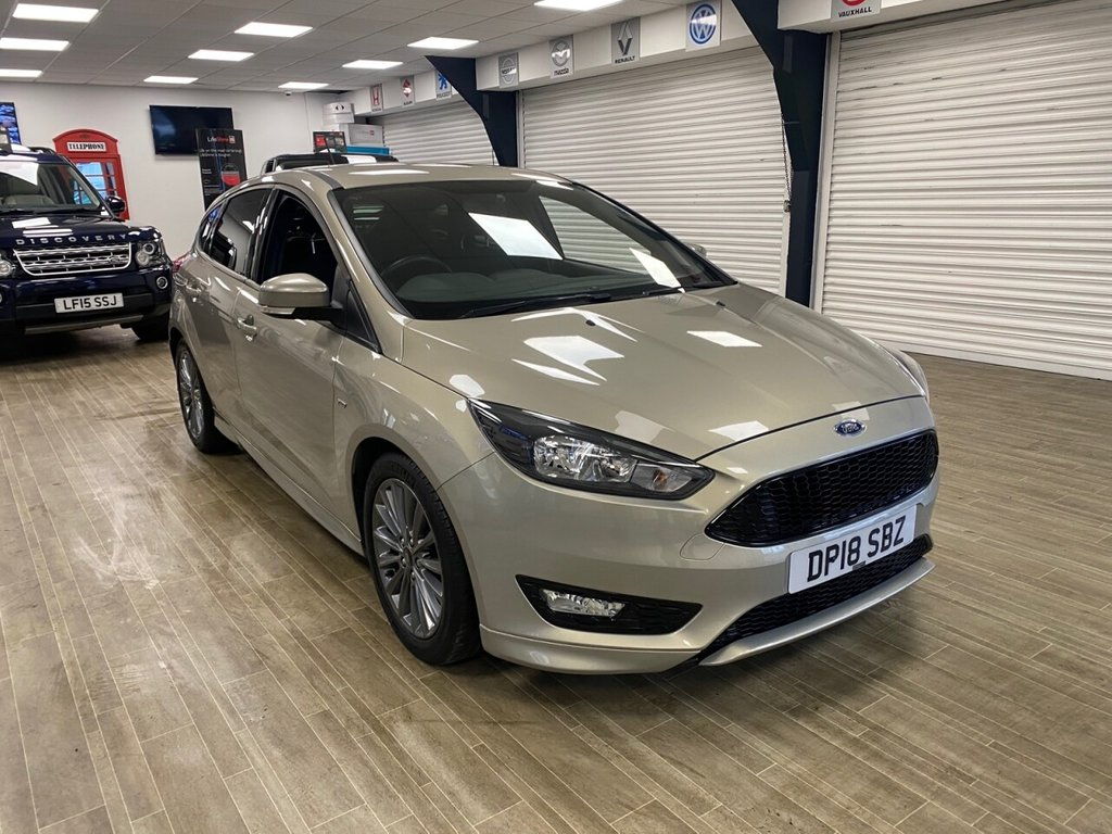USED 2018 18 FORD FOCUS 1.0 ST-LINE 5d 139 BHP FREE HOME DELIVERY CONTACTLESS CALL US ON 07785902621 AFTERHOURS