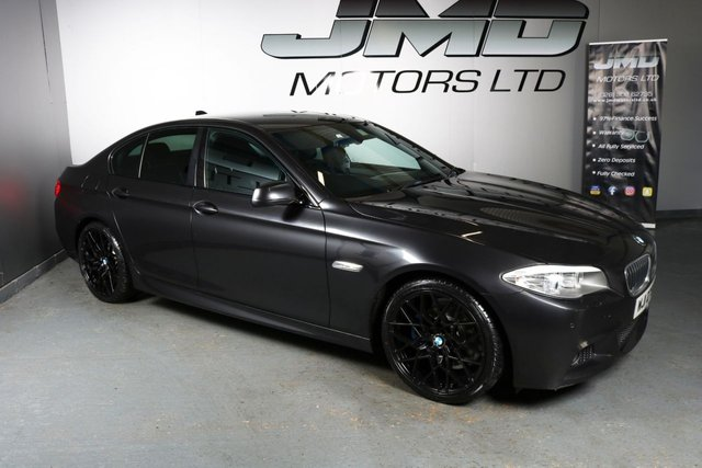 USED 2012 BMW 5 SERIES LATE 2012 BMW 520D M SPORT AUTO 181 BHP (FINANCE AND WARRANTY)