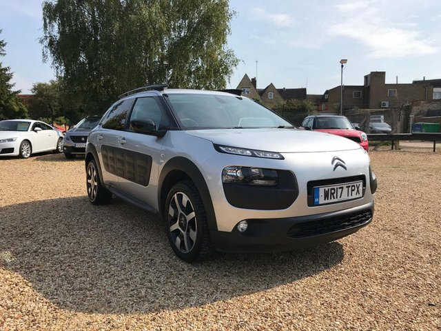 USED 2017 17 CITROEN C4 CACTUS 1.6 BlueHDi Flair Edition 5dr £0 Tax,Nav, Pan Roof, Leather