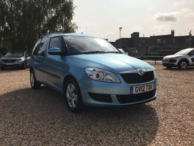 USED 2012 12 SKODA ROOMSTER 1.2 TSI SE 5dr Low Miles & Panoramic Roof
