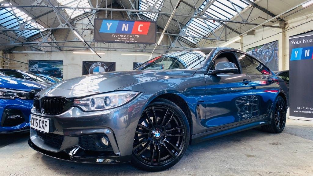 USED 2015 15 BMW 4 SERIES 2.0 420d M Sport Gran Coupe (s/s) 5dr PERFORMANCEKIT+19S+XENONS