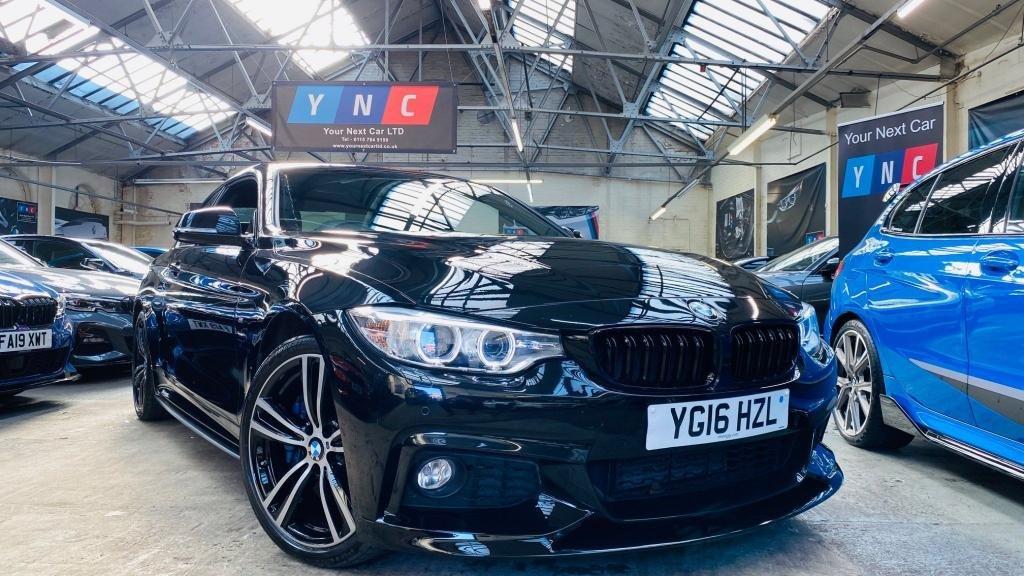 USED 2016 16 BMW 4 SERIES 3.0 430d M Sport xDrive 2dr PERFORMANCEKIT+XDRIVE+PLUSPACK