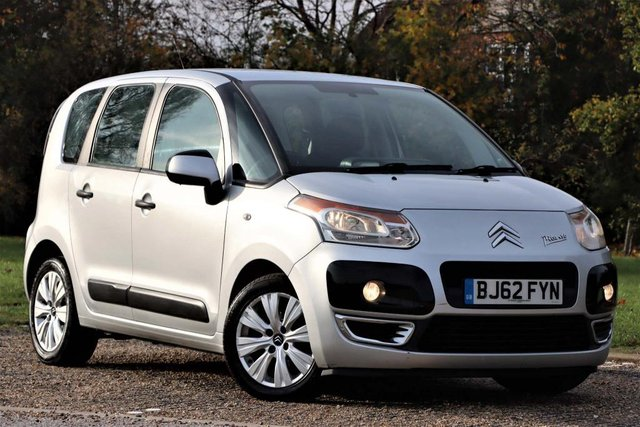USED 2012 62 CITROEN C3 PICASSO 1.6 HDi 8v VTR+ 5dr spacious Long MOT serviced