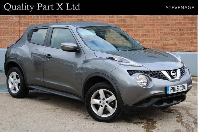 USED 2015 15 NISSAN JUKE 1.5 dCi 8v Visia (s/s) 5dr 1 OWNER, AUX, CD/MP3, AIRCON