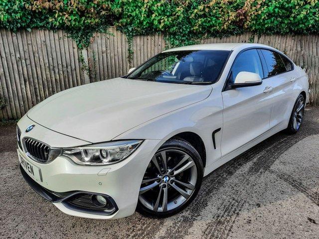 2017 17 BMW 4 SERIES 2.0 420D SPORT GRAN COUPE 4d 188 BHP