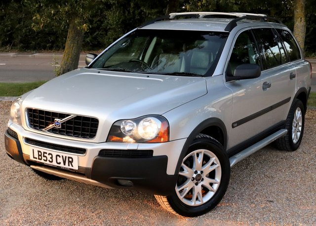 2003 53 VOLVO XC90 2.4 D5 SE 5d 161 BHP AUTOMATIC/  7 SEATER/