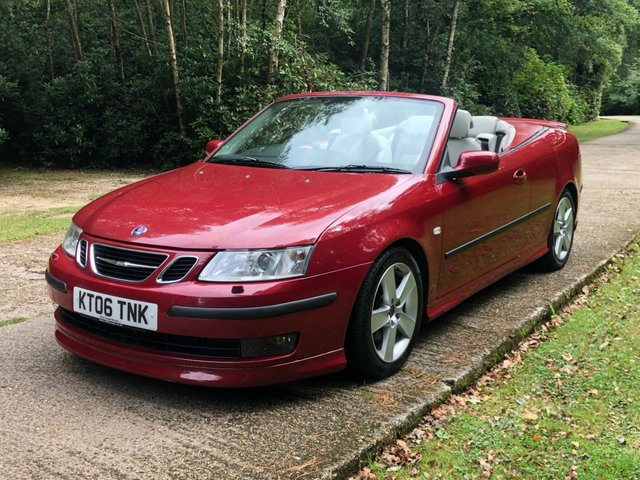 USED 2006 06 SAAB 9-3 2.8 AERO V6 2d 247 BHP AUTOMATIC LOW MILEAGE FINANCE ME TODAY-PX  UK DELIVERY POSSIBLE