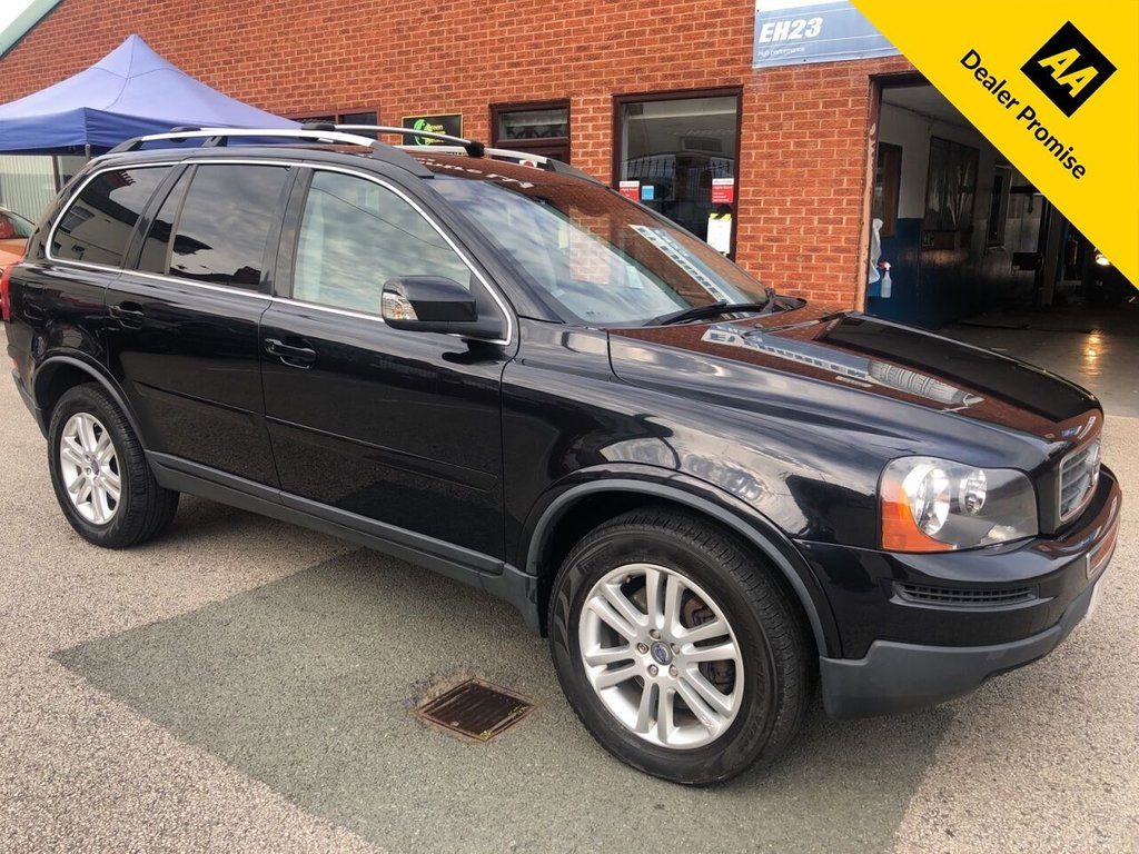 USED 2010 10 VOLVO XC90 2.4 D5 SE AWD 5d 185 BHP Family 7-Seater : Timing belt replaced in June 2019 at 83,935 miles : Leather upholstery : Electric driver's seat : Garmin Sat Nav : Parrot MKi9200 Hands-free : Rear parking sensors