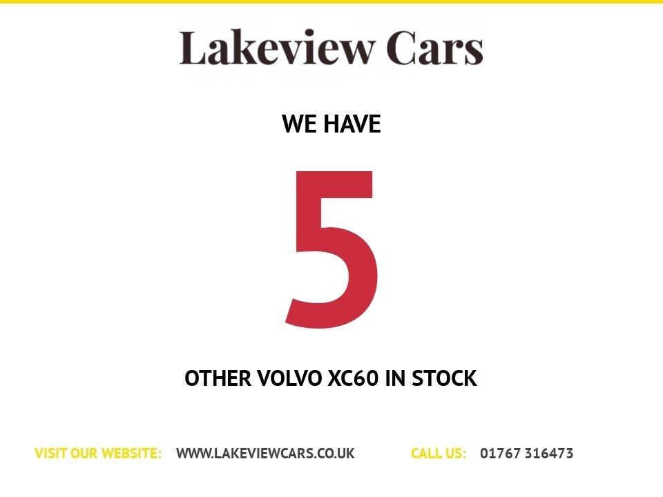 USED 2013 63 VOLVO XC60 2.4 D4 R-DESIGN NAV AWD 5d 161 BHP