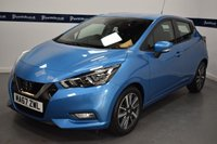 USED 2017 67 NISSAN MICRA 0.9 IG-T ACENTA 5d 90 BHP (BLUETOOTH PHONE AND MEDIA)
