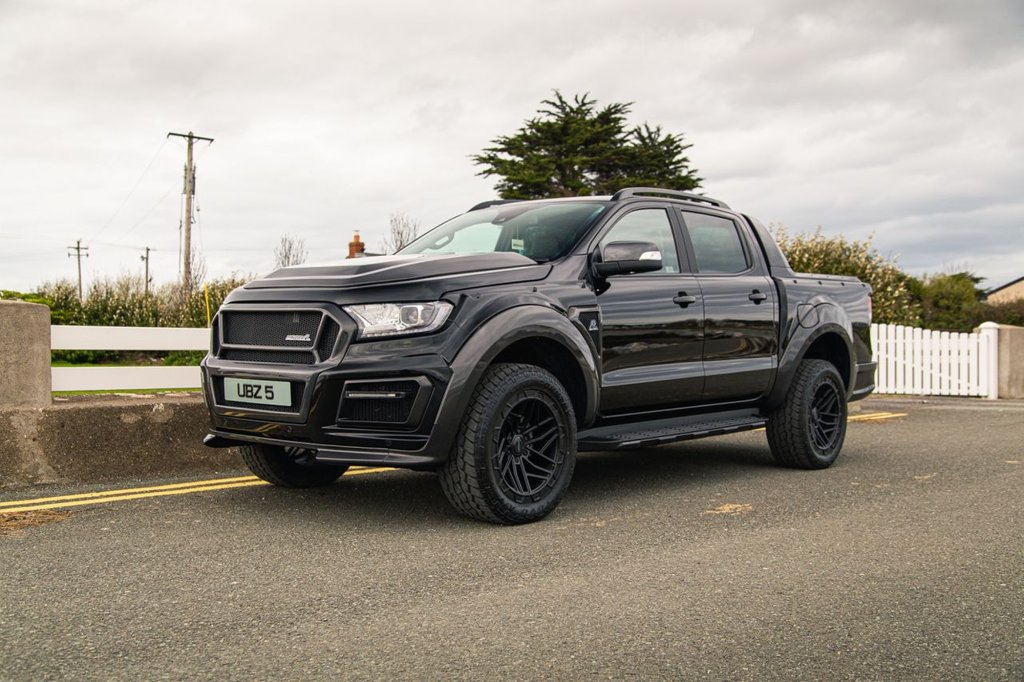 USED 2021 21 FORD RANGER CARBON EDITION
