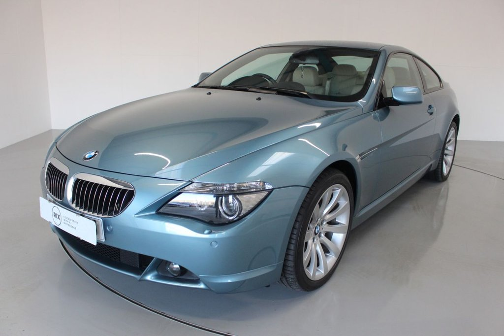 USED 2007 07 BMW 6 SERIES 4.8 650I SPORT 2d AUTO-ONE OFF EXAMPLE-LOW MILEAGE, 2 FORMER KEEPERS-HEATED IVORY LEATHER-ELECTRIC MEMORY SEATS-PARKING SENSORS