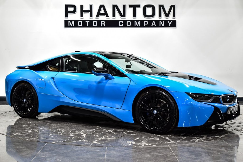 USED 2017 17 BMW I8 1.5 I8 2d 228 BHP.  SPECIAL ORDER MEXICO BLUE