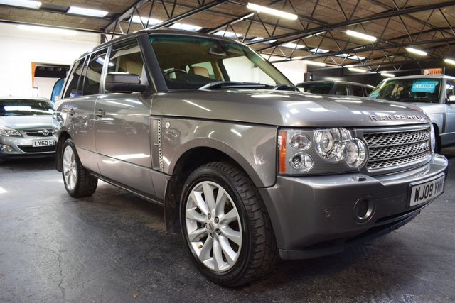 USED 2009 09 LAND ROVER RANGE ROVER 3.6 TDV8 HSE 5d 272 BHP GREAT VALUE 3.6 TDV8 HSE - BEIGE LEATHER - 20 INCH ALLOYS - HEATED SEATS - PRIVACY GLASS