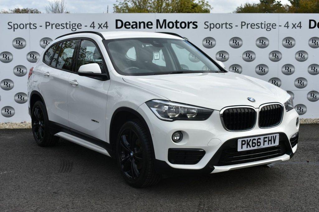 USED 2016 66 BMW X1 2.0 SDRIVE18D SPORT 5d 148 BHP