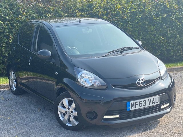 USED 2013 63 TOYOTA AYGO 1.0 VVT-I MOVE WITH STYLE 5d 68 BHP LOW MILEAGE AND LOW RUNNING COSTS