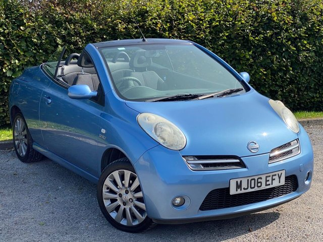 USED 2006 06 NISSAN MICRA 1.6 SPORT CC 2d 109 BHP LOW MILEAGE CONVERTIBLE