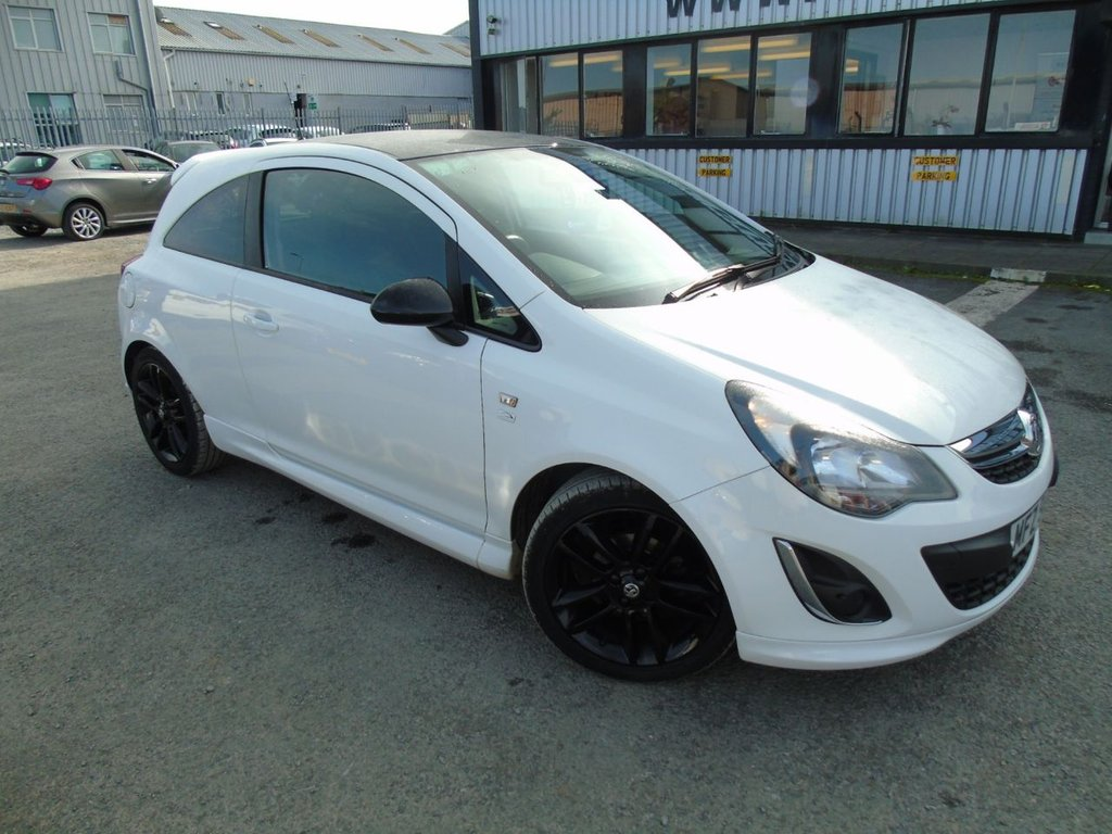 USED 2013 VAUXHALL CORSA 1.2 LIMITED EDITION 3d 83 BHP £108 a month, T&C's apply.