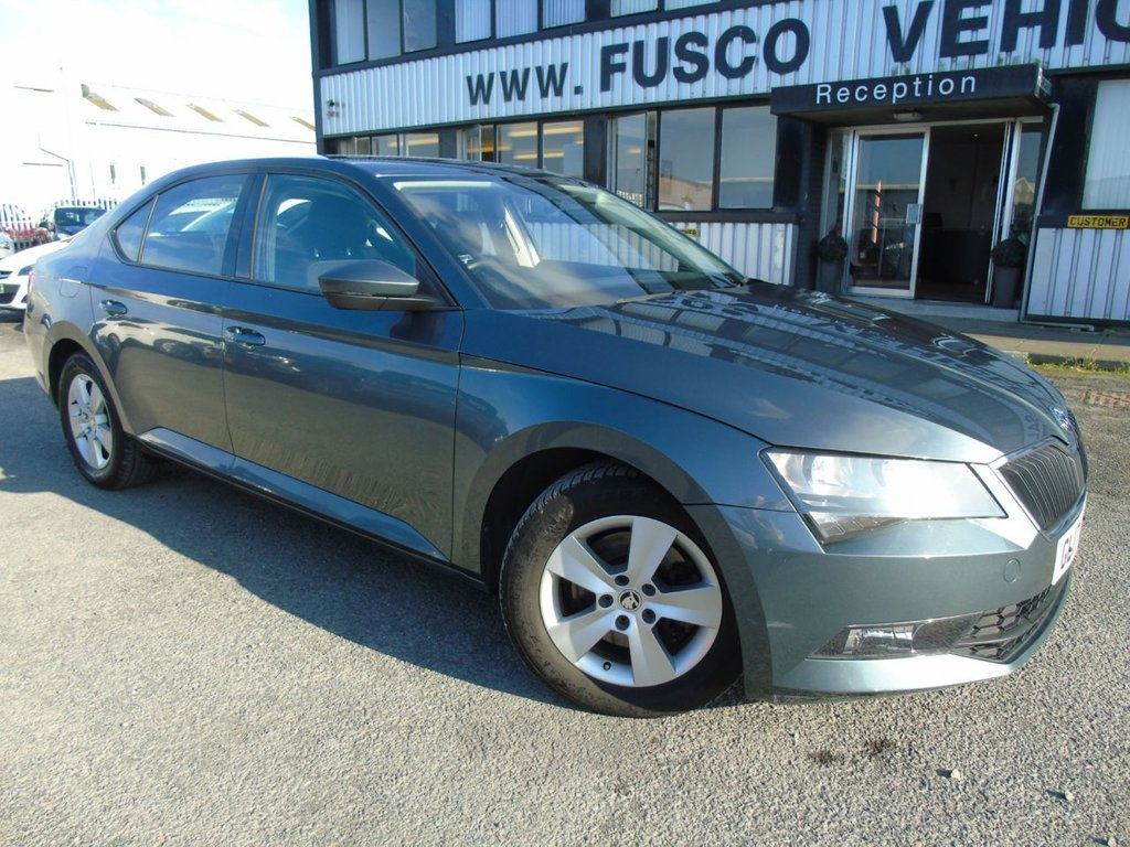 USED 2017 17 SKODA SUPERB 1.6 S TDI 5d 118 BHP £177 a month, T&Cs apply.
