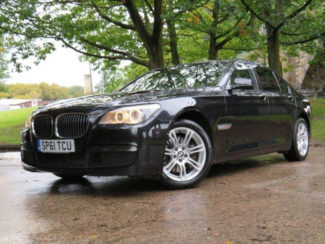 USED 2011 61 BMW 7 SERIES 3.0 740D M SPORT 4d 302 BHP
