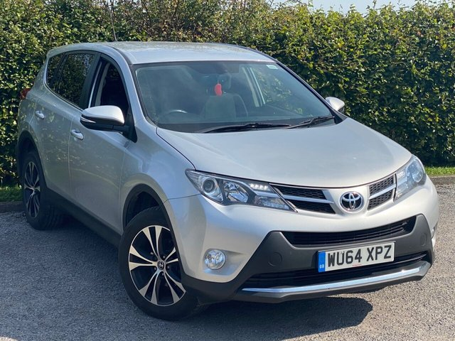 USED 2014 64 TOYOTA RAV4 2.0 D-4D ICON AWD 5d 124 BHP FANTASTIC CONDITION 4 X 4 FAMILY SUV