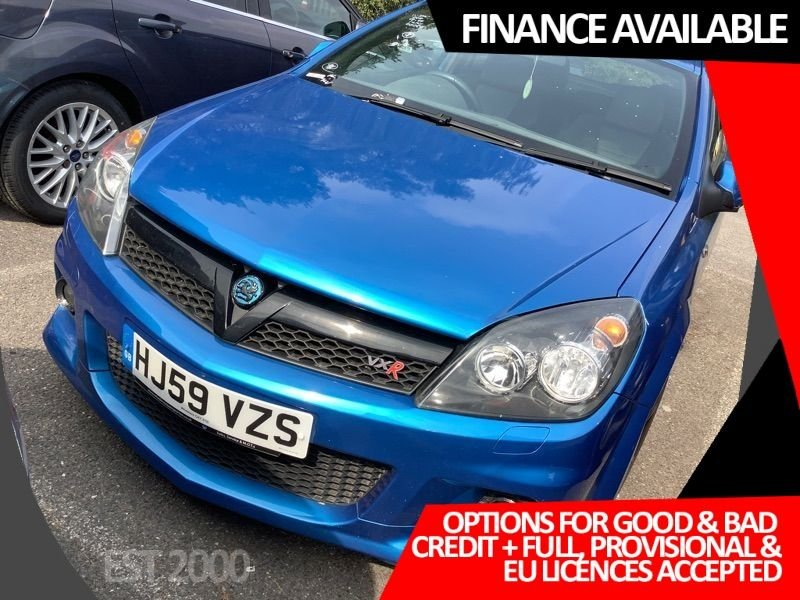 "USED 2009 59 VAUXHALL ASTRA 2.0 VXRACING 3d 236 BHP * AIR CON * 19"" ALLOYS * NEW MOT * 9 SERVICE STAMPS *"