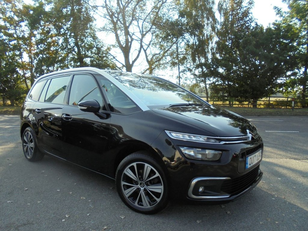 USED 2017 17 CITROEN C4 GRAND PICASSO 1.6 BLUEHDI FEEL S/S 5d 118 BHP