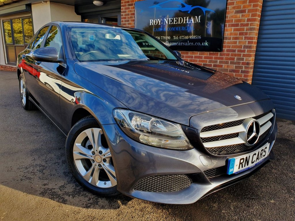 USED 2016 65 MERCEDES-BENZ C-CLASS 1.6 C200 D SE 4DR 136 BHP *** NAV - FULL LEATHER - 1 OWNER ***
