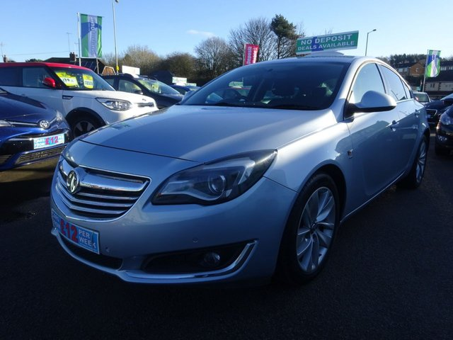USED 2015 64 VAUXHALL INSIGNIA 2.0 SRI NAV CDTI ECOFLEX S/S 5d 160 BHP **CLICK AND COLLECT ON YOUR NEXT CAR**