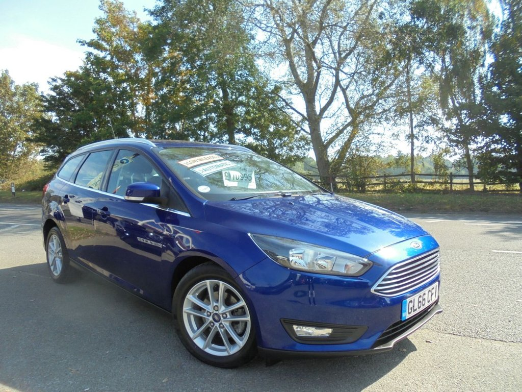 USED 2016 66 FORD FOCUS 1.0 ZETEC 5d 124 BHP