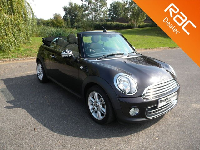 USED 2014 64 MINI CONVERTIBLE 1.6 COOPER 2d 122 BHP BY APPOINTMENT ONLY - Stylish Convertible! Alloy Wheels, DAB Radio, Air Con