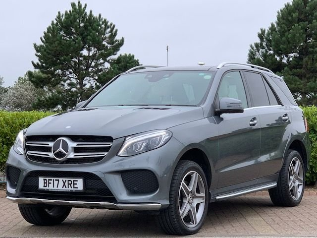 USED 2017 17 MERCEDES-BENZ GLE-CLASS 3.0 GLE 350 D 4MATIC DESIGNO LINE 5d 255 BHP