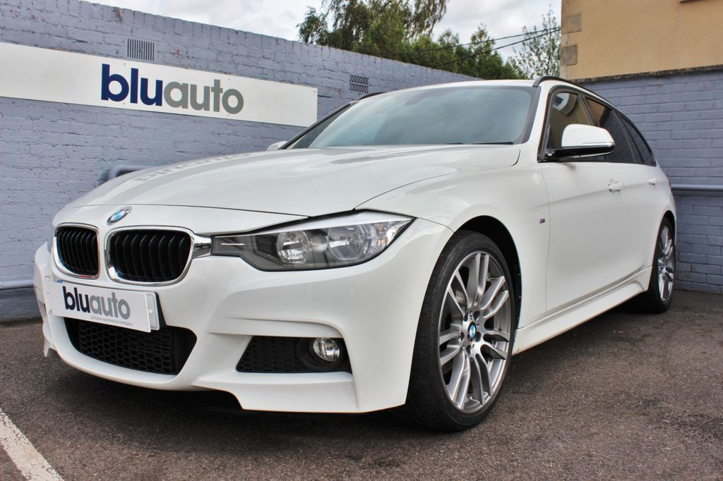 USED 2015 15 BMW 3 SERIES 2.0 M SPORT TOURING 5d 181 BHP Full BMW Servicing, Navigation, Rear Sensors, Heated Leather Seats. Cruise Control, Bluetooth Connectivity