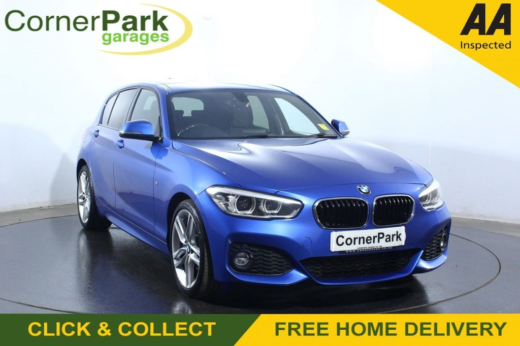 USED 2016 16 BMW 1 SERIES 2.0 125D M SPORT 5d 221 BHP