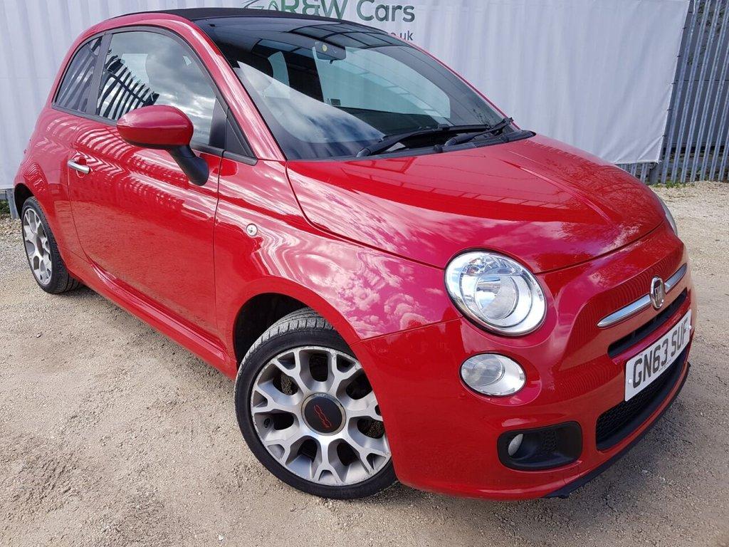 USED 2013 63 FIAT 500 1.2 C S 3d 69 BHP