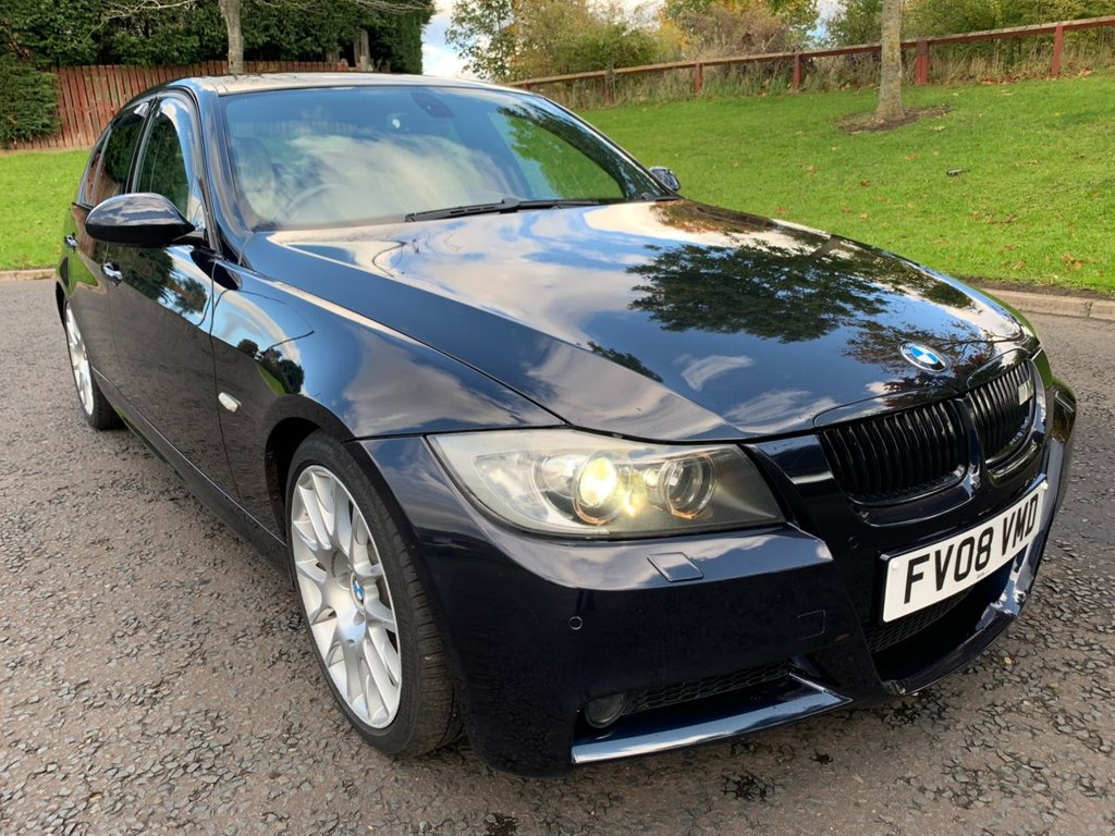 USED 2008 08 BMW 3 SERIES 2.0 320D EDITION M SPORT 4d 174 BHP ULTIMATE SPECS   LEATHER   1 YEAR MOT   M SPORT