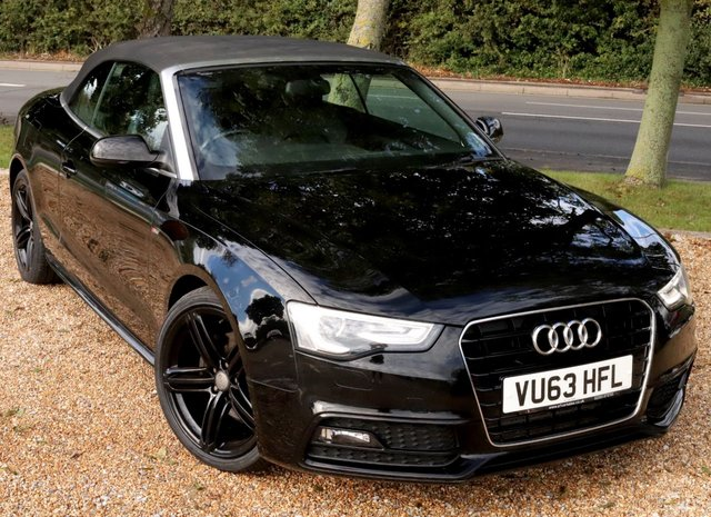 2013 63 AUDI A5 2.0 TDI S LINE SPECIAL EDITION 2d 175 BHP AUTOMATIC