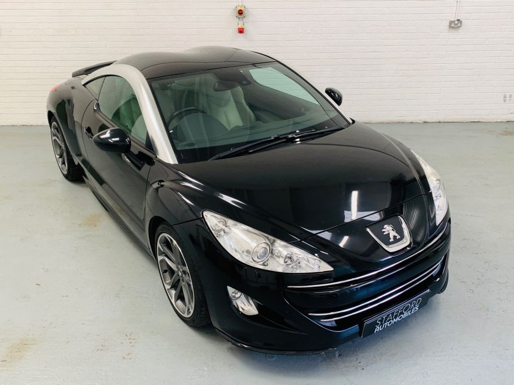 USED 2010 PEUGEOT RCZ 2.0 HDI GT 2d 163 BHP GREAT SPEC INC SAT NAV, HEATED LEATHER, CRUISE, PDC