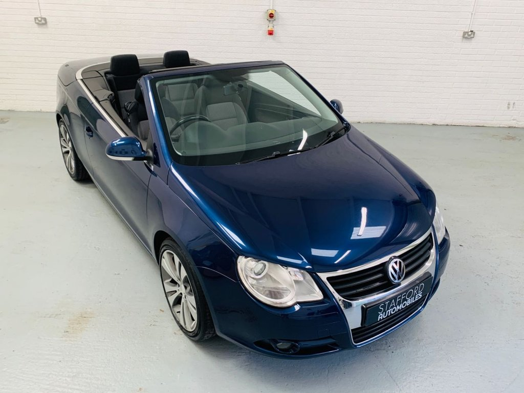 USED 2006 04 VOLKSWAGEN EOS 2.0 TDI 2d 138 BHP 18IN ALLOYS, PDC, XENONS